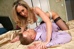 Seduced by a cougar - Brandi Love **April 2, 2012**