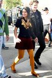 "Lea Michele on the set of ""Glee"" - Jan 8, 2010"