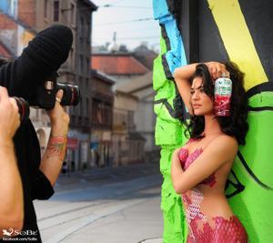 Джессика Зор, фото 998. Body Paint For Sobe Photoshoot / MQ Jessica Szohr Tagged, foto 998,
