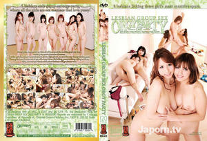 (FH-61) Lesbian Group Sex Orgy Party